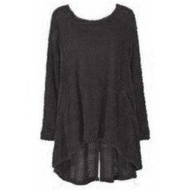 Alembika Alembika Fuzzy Sweater - Black