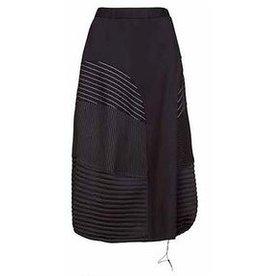 Alembika Alembika Mixed Media Skirt - Black