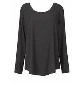 Alembika Alembika Soft Basic Top - Charcoal Black