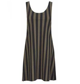 Alembika Alembika Techno Stripe Tank - Green/Black
