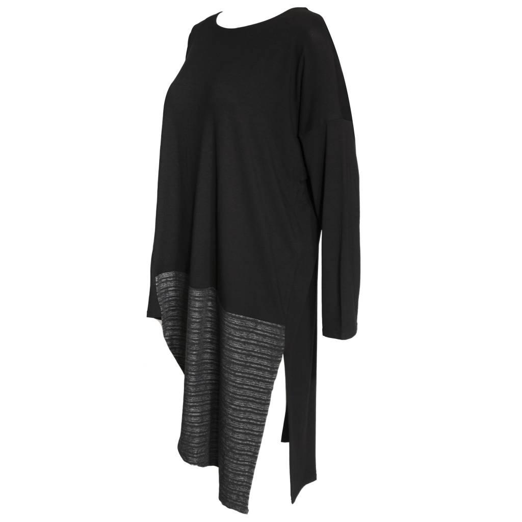 Avivit Yizhar Avivit Yizhar Tunic Dress - Black/Grey