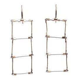 Meghan Patrice Riley Meghan Patrice Riley Ladder Hooks Earrings