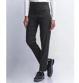 Crea Concept Crea Concept Foldover Slim Pants - Black