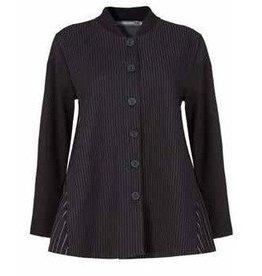 Alembika Alembika Pinstripe Jacket - Black