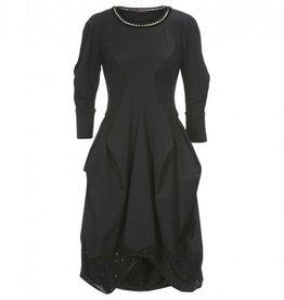 HIGH High Quadrille Dress - Black