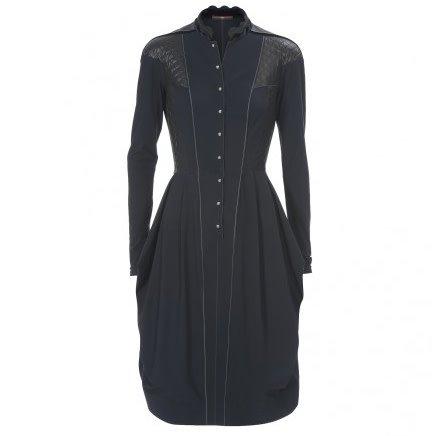 HIGH High Chatalaine Dress - Black