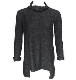 Matthildur Matthildur Cowl Neck Pullover - Stone Grey