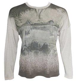 Yoshi Yoshi Yoshi Yoshi Print Pullover - Beige