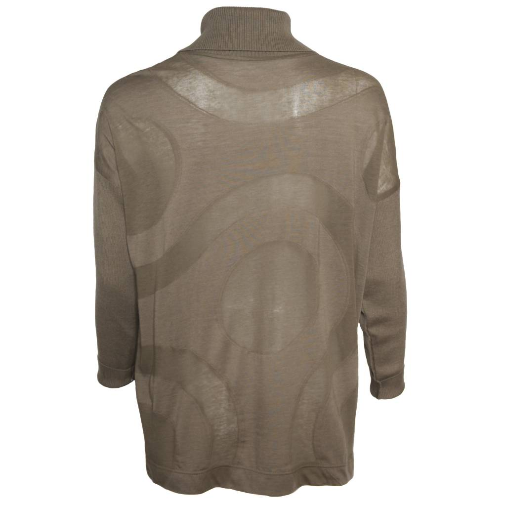 Yoshi Yoshi Yoshi Yoshi Collared Button Front Sweater