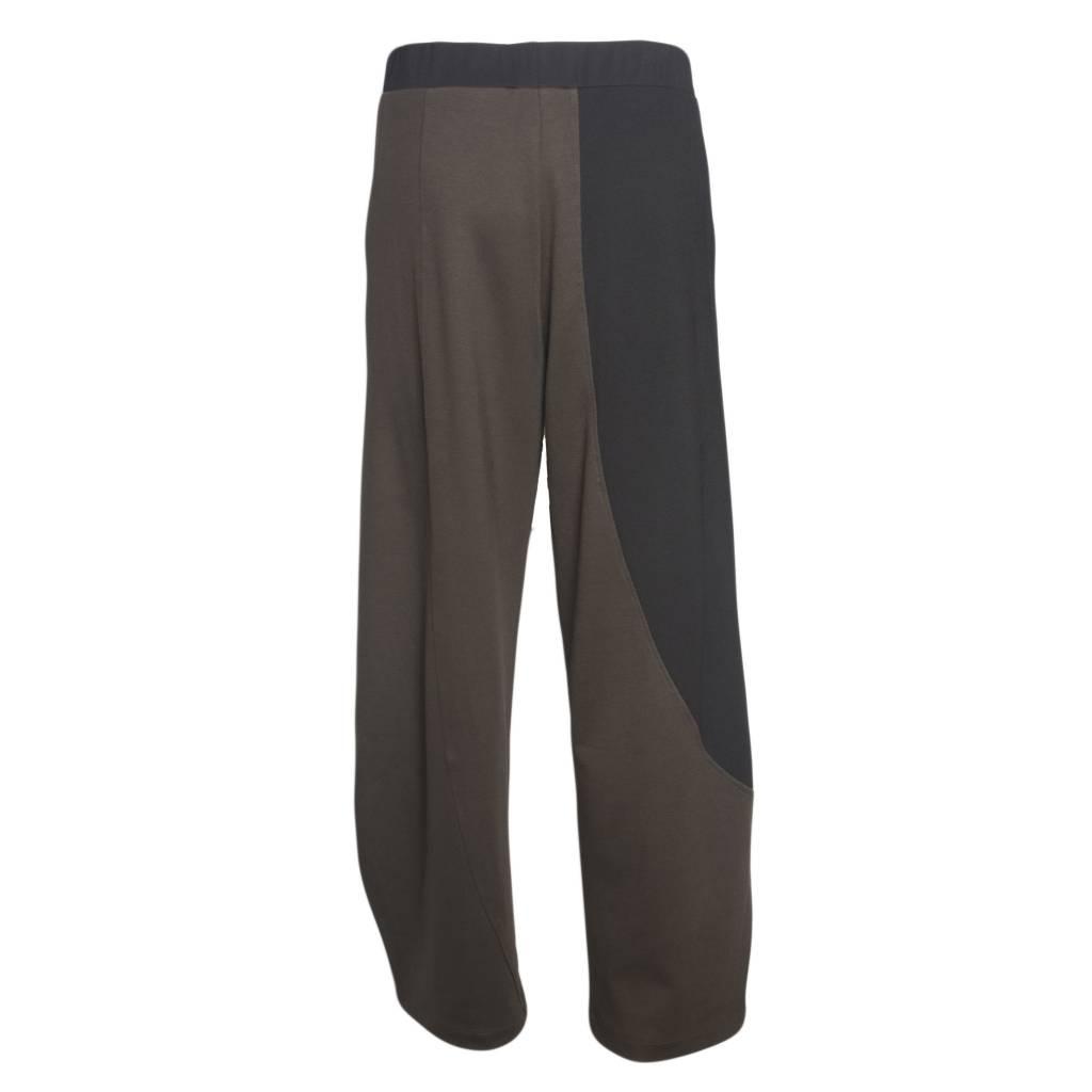 Alembika Alembika 2 Tone Pants - Green/Black