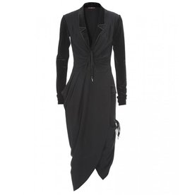 HIGH High Yukata Dress - Black