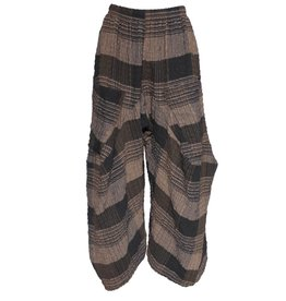 Dress To Kill Dress To Kill Harem Pants - Brown Plaid