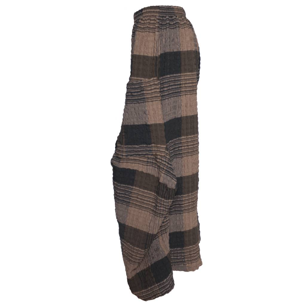 Dress To Kill Dress To Kill Harem Pants - Brown Plaid