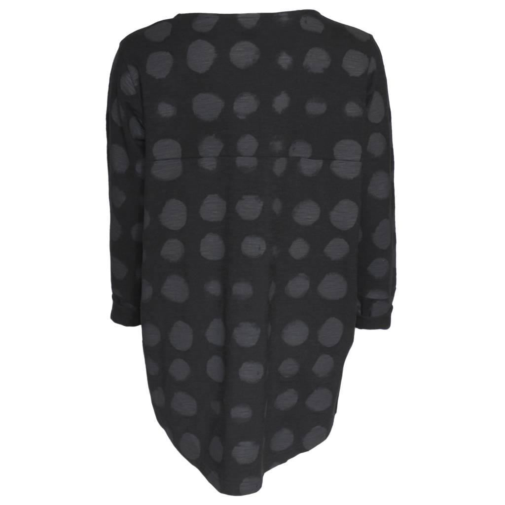 Moyuru Top - Black w/ Dot