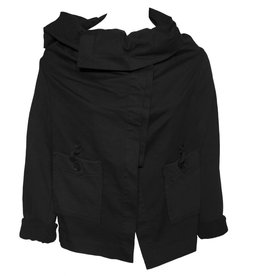 Crea Concept Crea Concept Button Jacket - Black