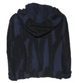 Crea Concept Crea Concept Hooded Cardigan - Navy/Black