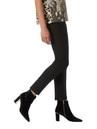Cambio Cambio Ros Zip Pocket Pants - Charcoal Heather