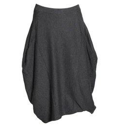 Matthildur Matthildur Double Face Skirt - Stripes/Black