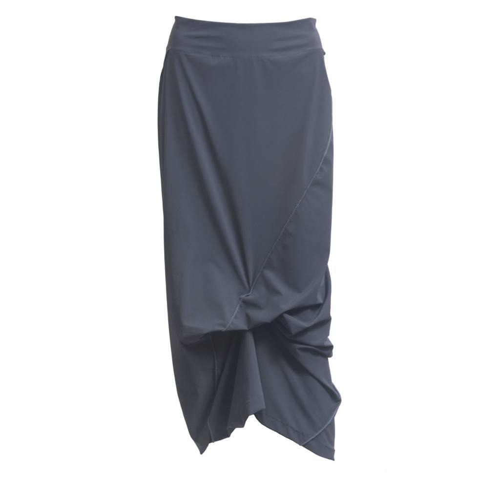 Porto Porto Napolean Long Skirt - Slate