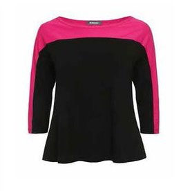 Alembika Alembika Atheleisure Fitted Top - Fushia