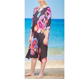 Alembika Alembika Print Sleeve Dress