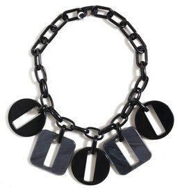 Michaela Malin Metallica Short Necklace