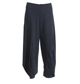 Porto Porto Belden Side Pleat Pants - Eclipse