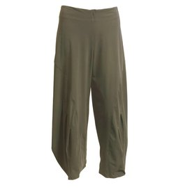 Porto Porto Belden Side Pleat Pants - Porcini