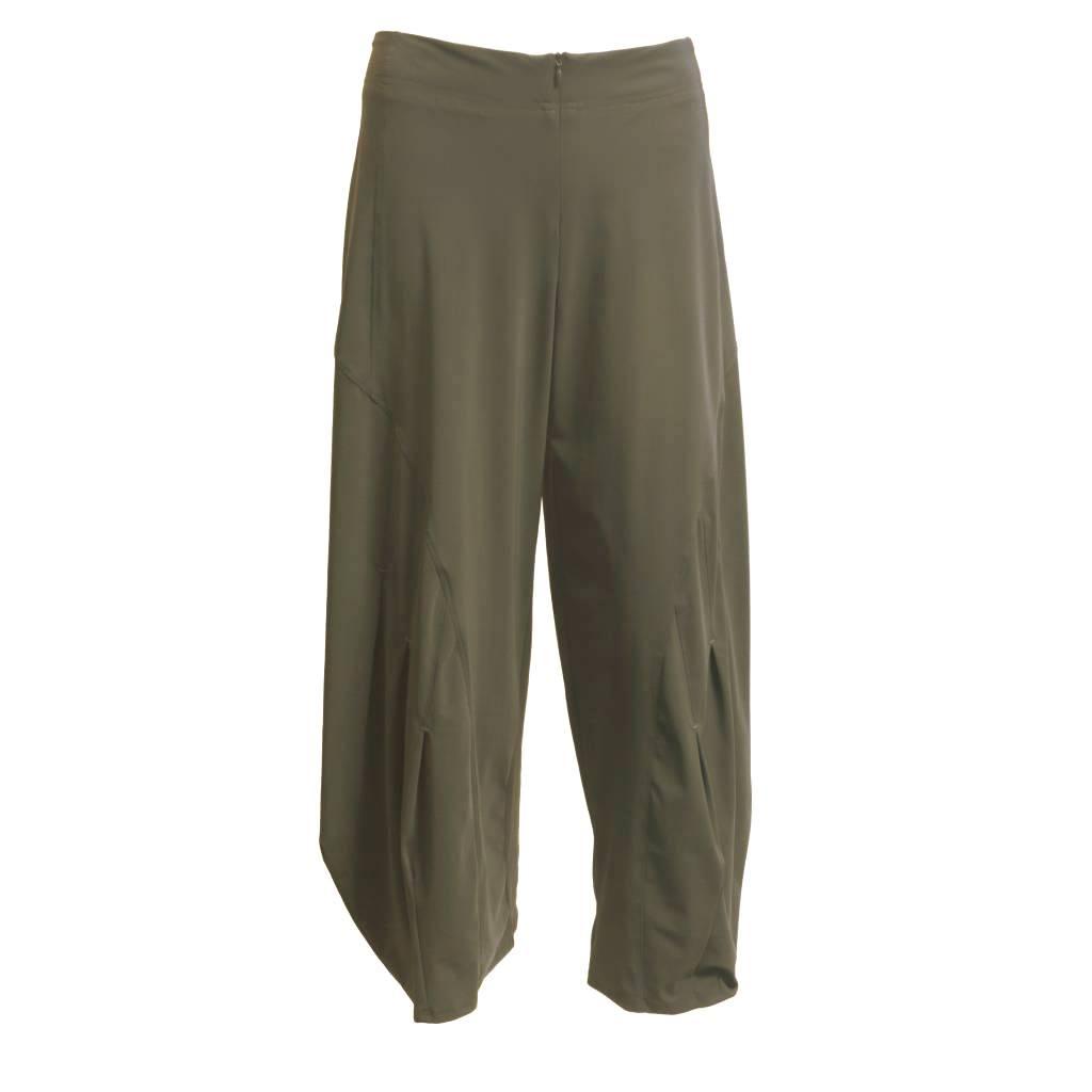 Porto Porto Belden Side Pleat Pants - Porcini