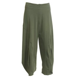 Porto Porto Belden Side Pleat Pants - Camo
