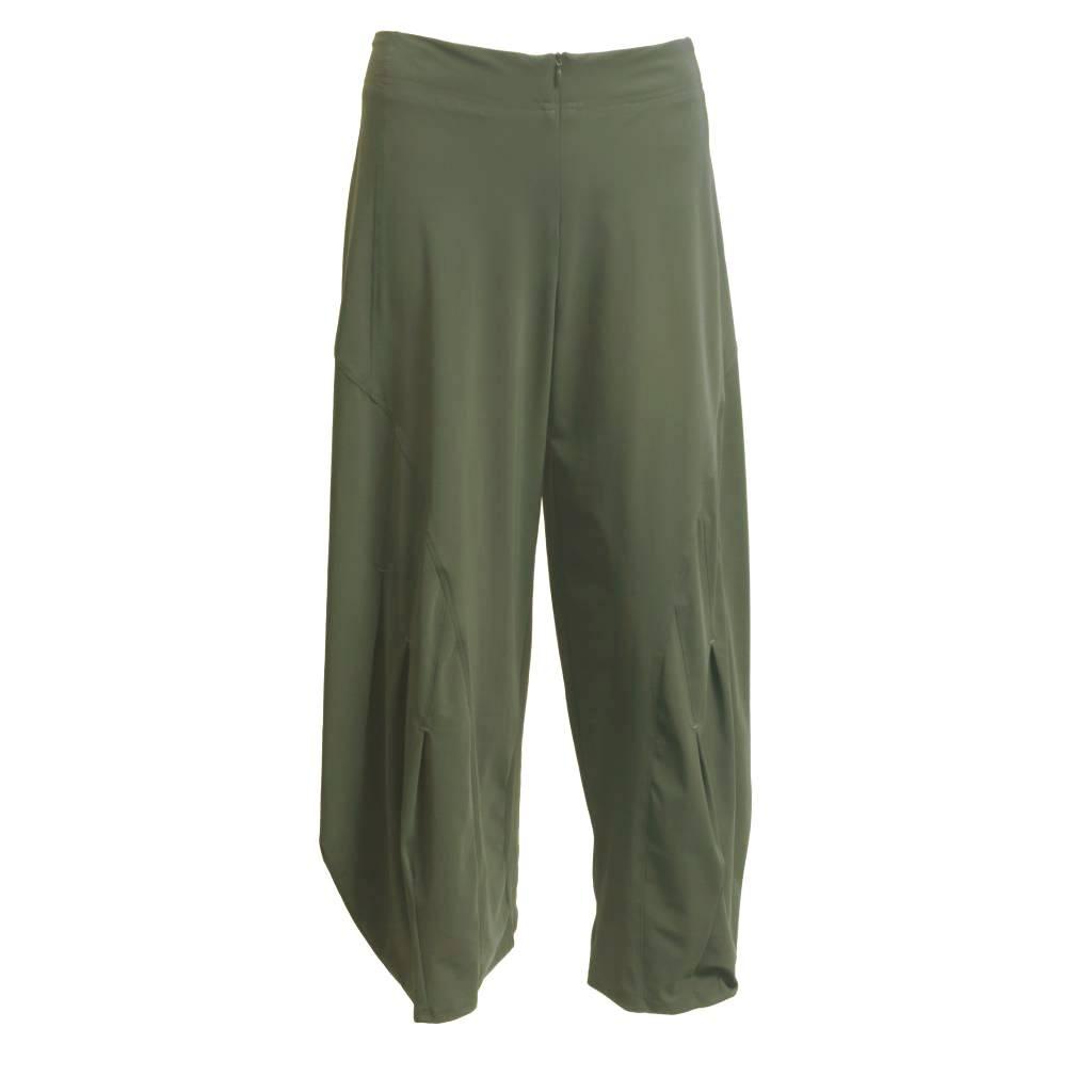 Porto Porto Belden Side Pleat Pants - Camo