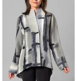 Kay Chapman Riding Jacket - Grey/White/Blk