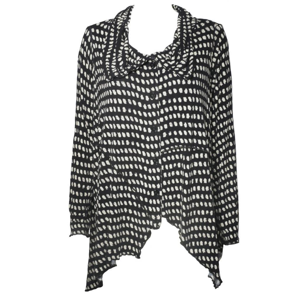 Dress To Kill Dress To Kill Collar Jacket - Spots