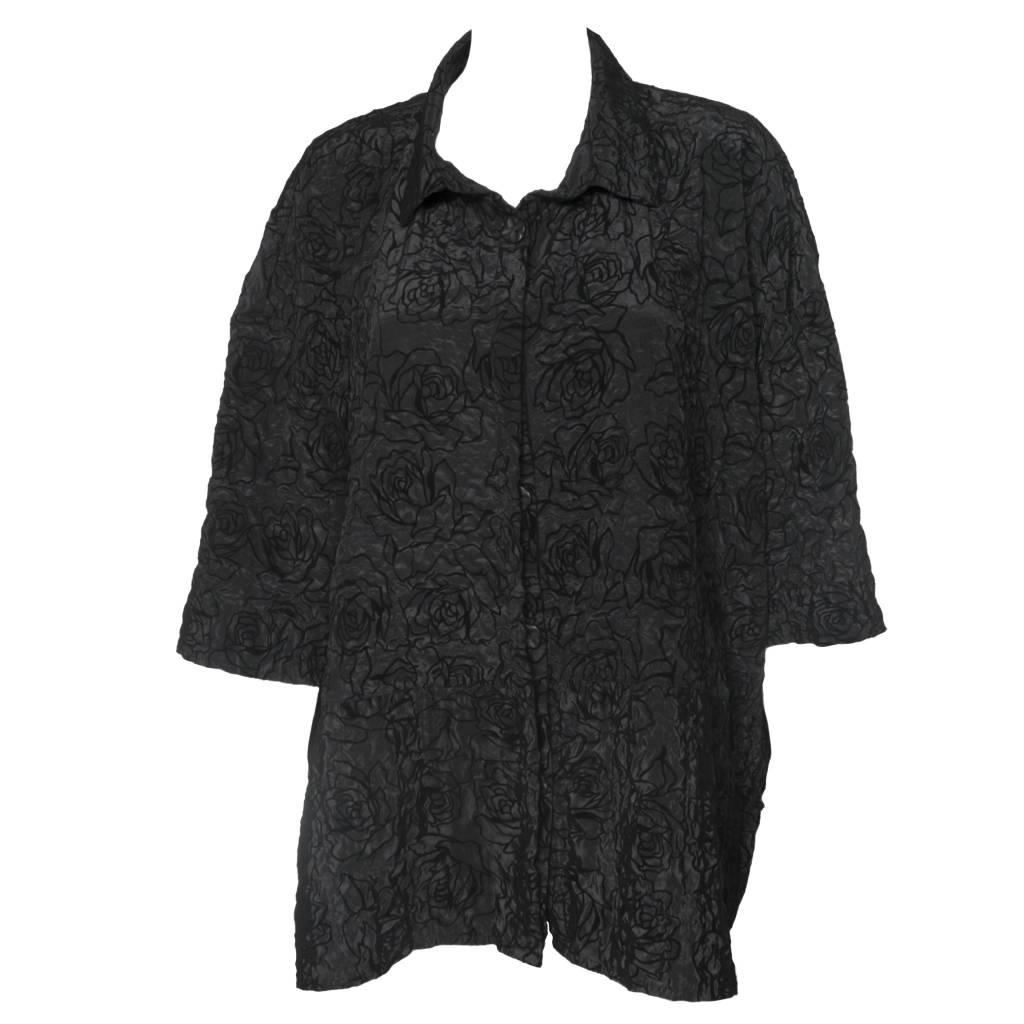Dress To Kill Dress To Kill Flocked Banded Cappy Shirt
