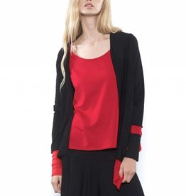 Xenia Xenia Ipak Cardy - Black/Red