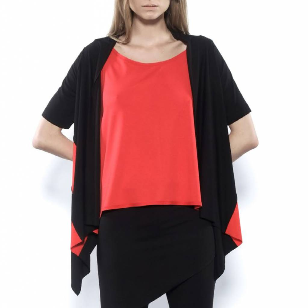 Xenia Xenia Ihem Cardy - Black/Red