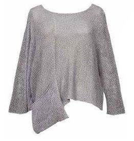Alembika Alembika 1 Pocket Pullover - Silver