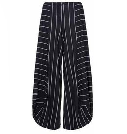 Alembika Alembika Stripe Pants - Black with White Stripes