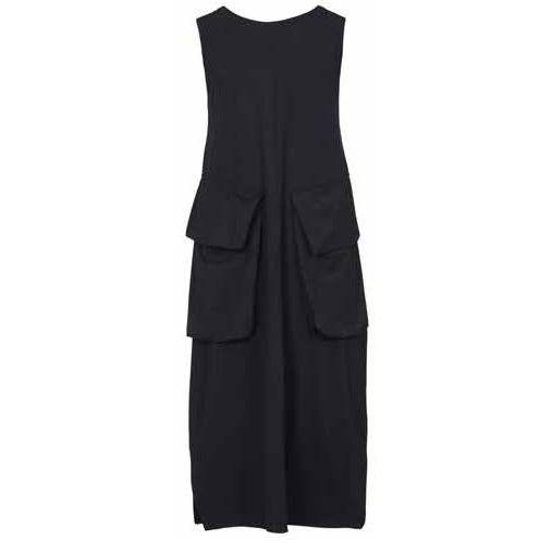 Alembika Alembika Sleeveless Techno Dress - Black