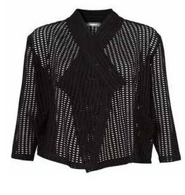 Alembika Alembika Perforated Cardy - Black