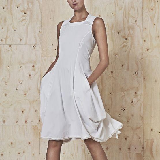 HIGH HIGH Jessy Dress - White