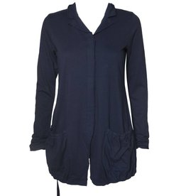 Studio Rundholz Studio Rundholz Button Front Jacket - Blue