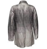 Xiaoyan Sheer Shirt - Mauve Print