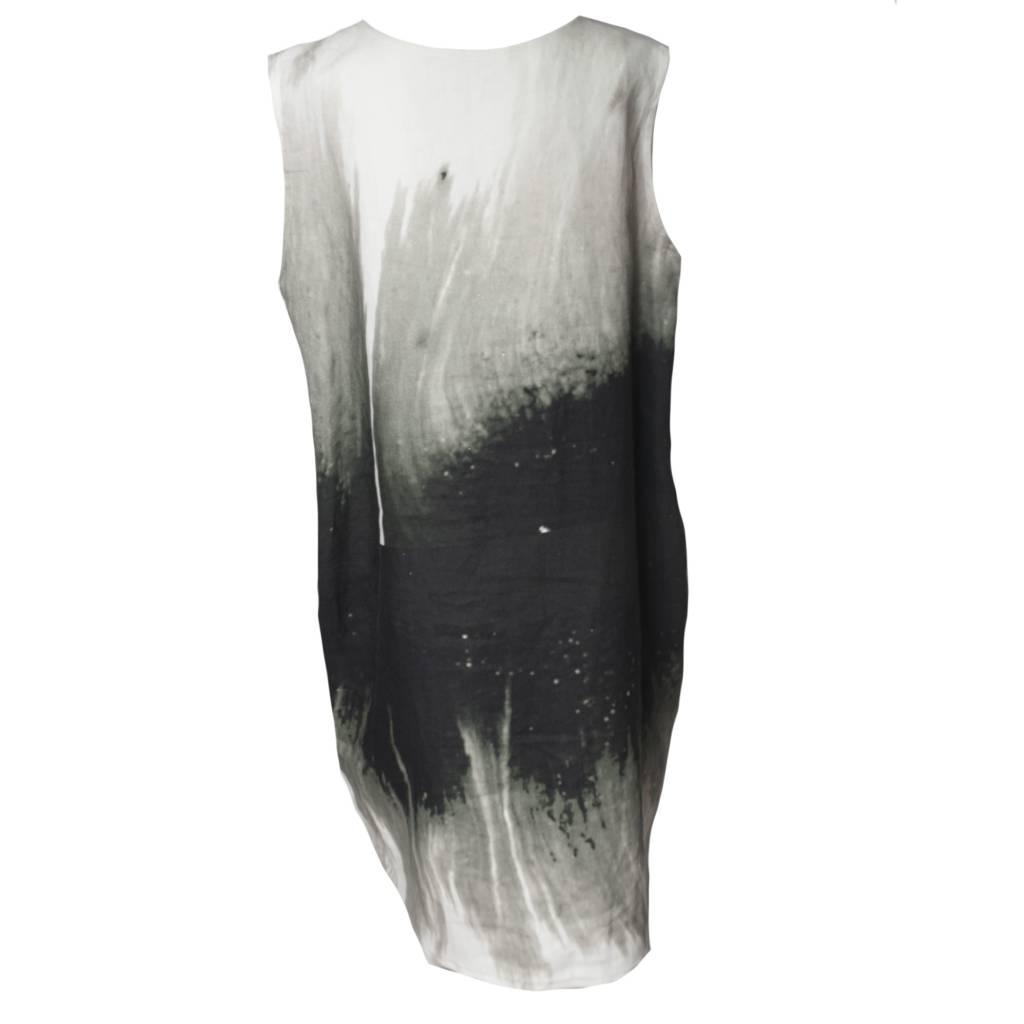 Xiaoyan Xiaoyan Sleeveless Tunic Dress - Forest Print
