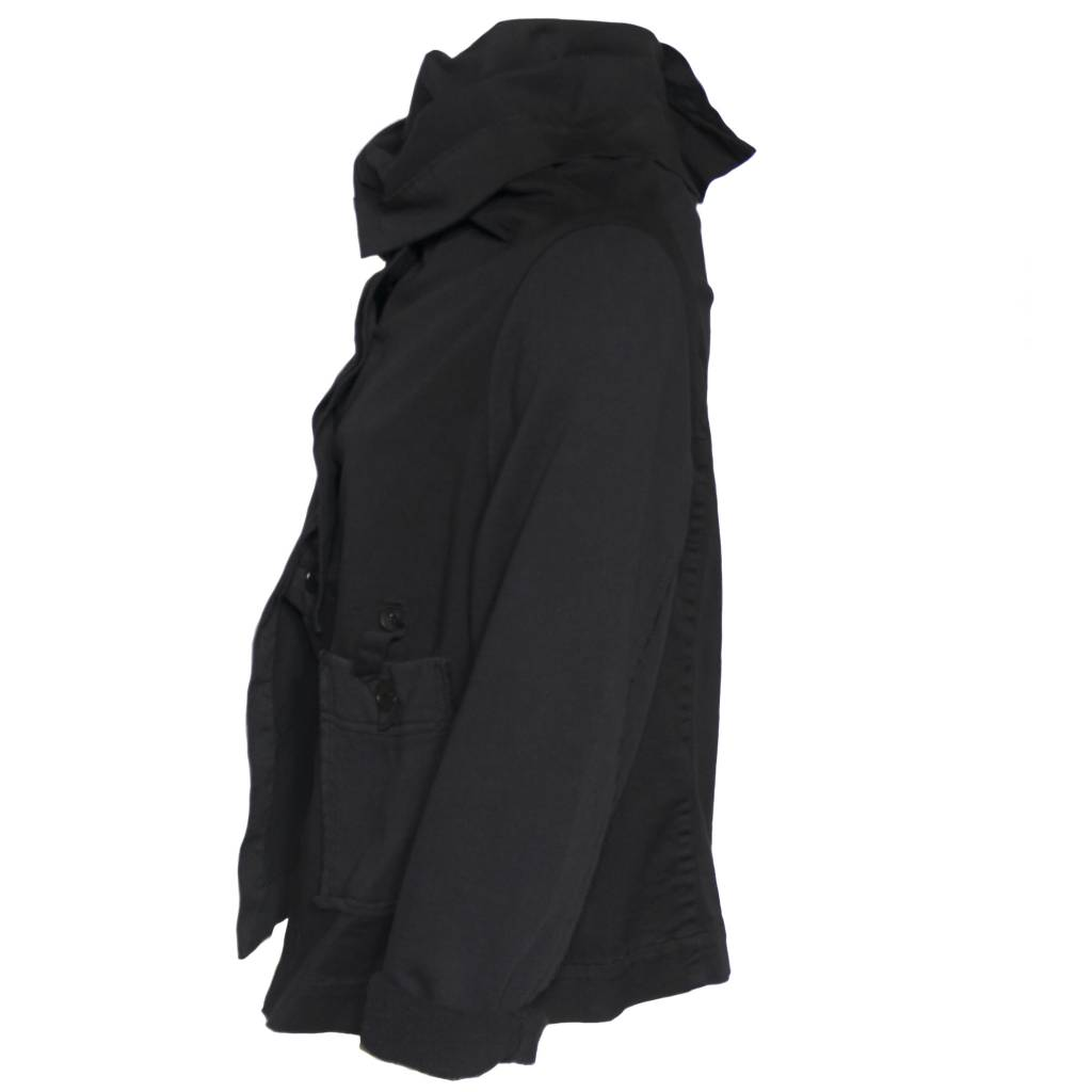 Crea Concept Crea Concept Button Jacket - Black