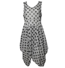 Dress To Kill Dress To Kill V Neck Abstract Dress - Dots