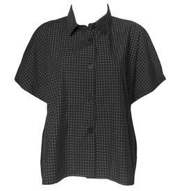 Dress To Kill Dress To Kill Cappy Shirt - Black Check