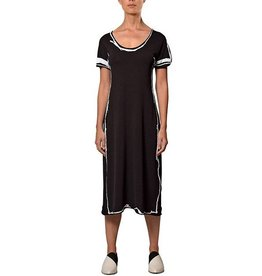 Crea Concept Crea Concept Short Sleeve Dress B/W