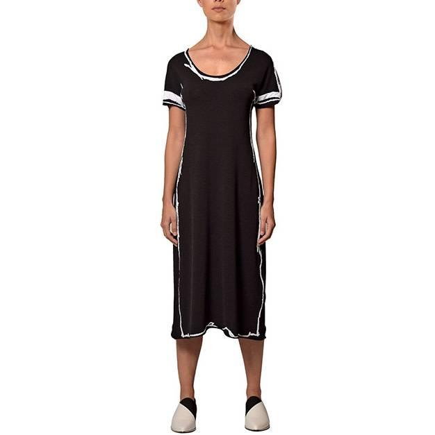 Crea Concept Crea Concept Short Sleeve Dress B/W