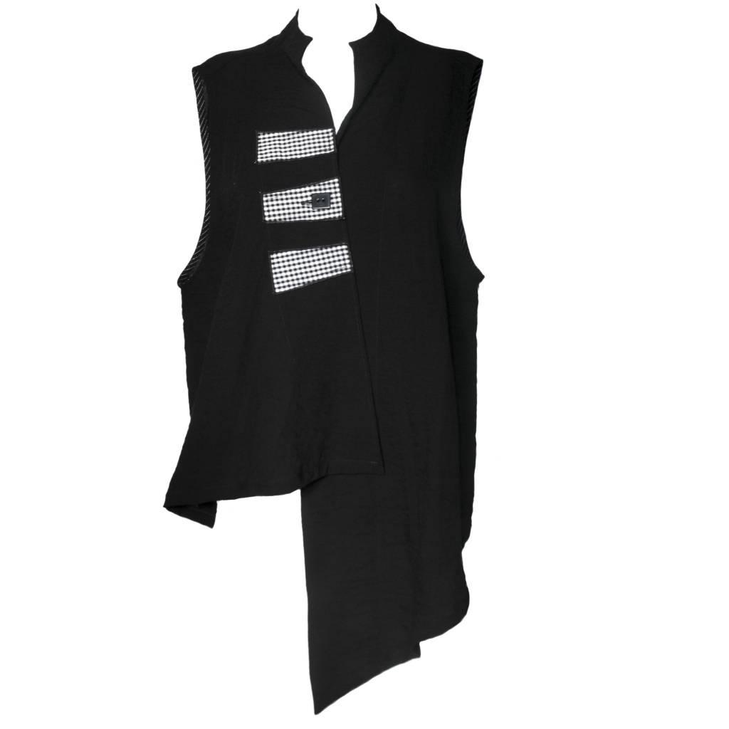 Xiao Xiao Olivia Vest - Check